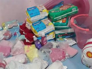 Bebê prematura ganha enxoval através de ação social da PM, em Jequié