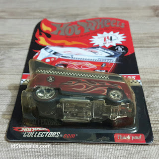 HOT WHEELS VOLKSWAGEN CUSTOMIZED VW DRAG BUS Red Line Club