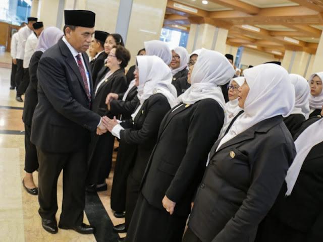 Sekda DKI Jakarta Lantik 334 Pejabat Fungsional