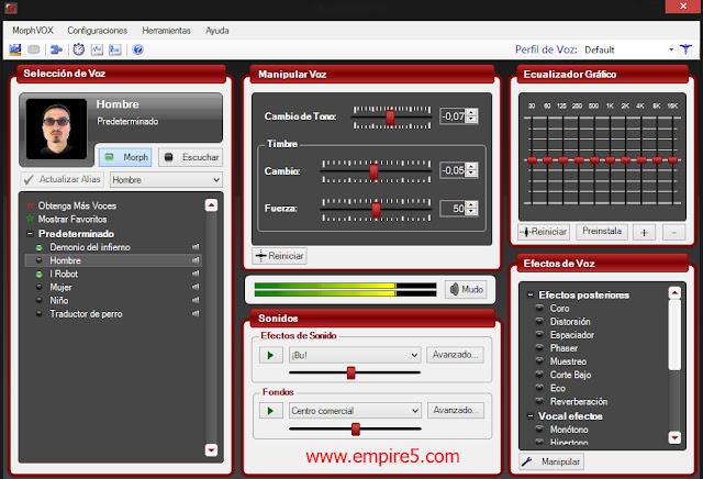 تحميل برنامج MorphVOX Pro لتغير صوتك