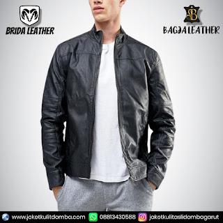 jaket kulit original import