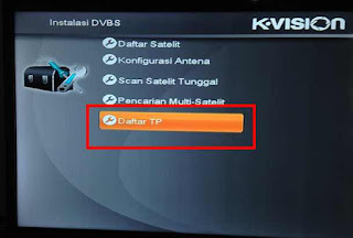 Cara Scan Ulang Receiver K-Vision