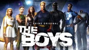 Amazon Prime Original show about superheros gone bad