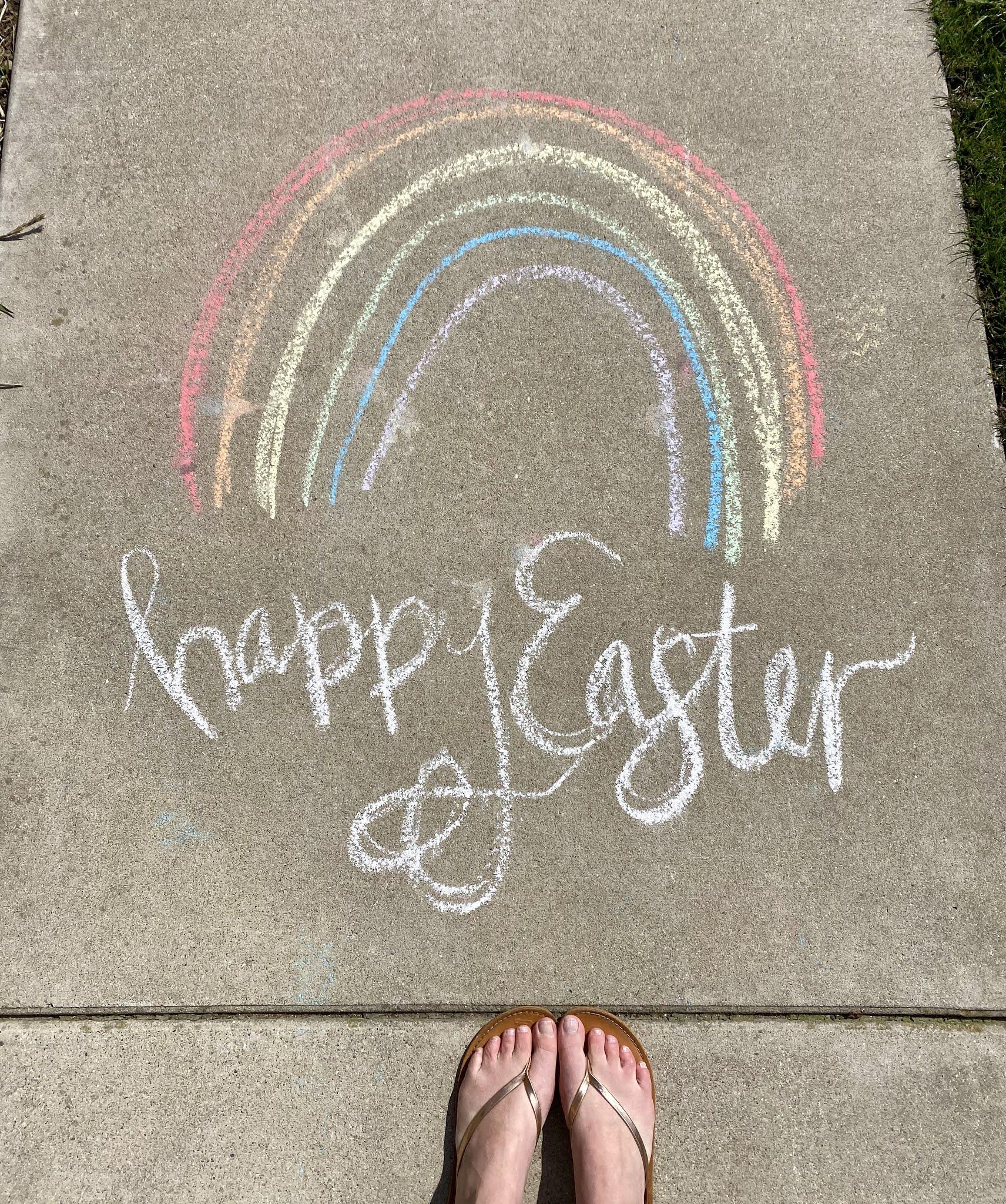 Easter Chalk Art | www.biblio-style.com