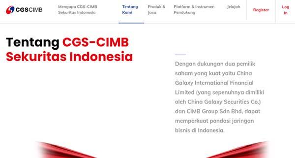 Nomor Call Center CS CGS CIMB SEKURITAS INDONESIA