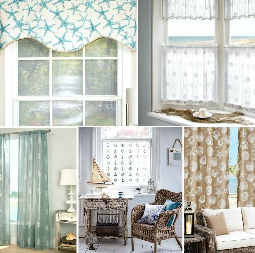 Coastal & Nautical Window Treatments