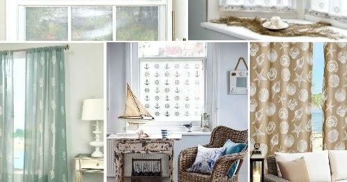 Coastal & Nautical Window Treatments - Completely Coastal