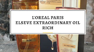 Review Hair Oil Minyak Rambut L'oreal Paris Extraordinary Oil