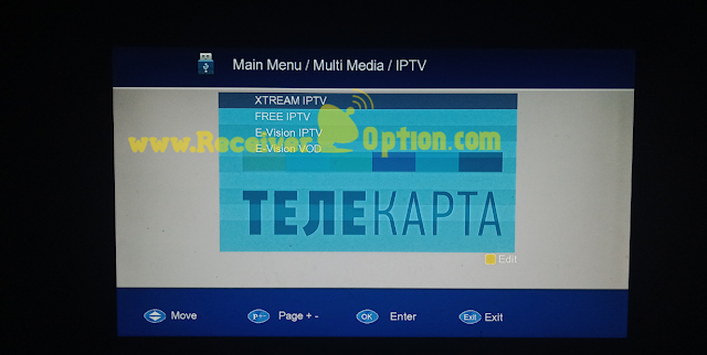 TELECARD EWO 007 1506TV 512 4M NEW SOFTWARE WITH ONE YEAR DQCAM FREE SERVER