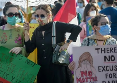 Protests in different cities of Pakistan