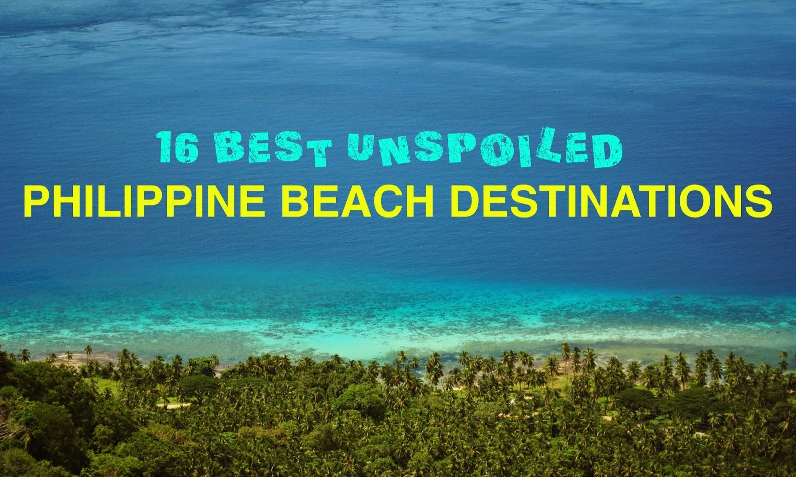 Backpacking pilipinas summer 2014 travel guide 16 best for Best beach travel destinations