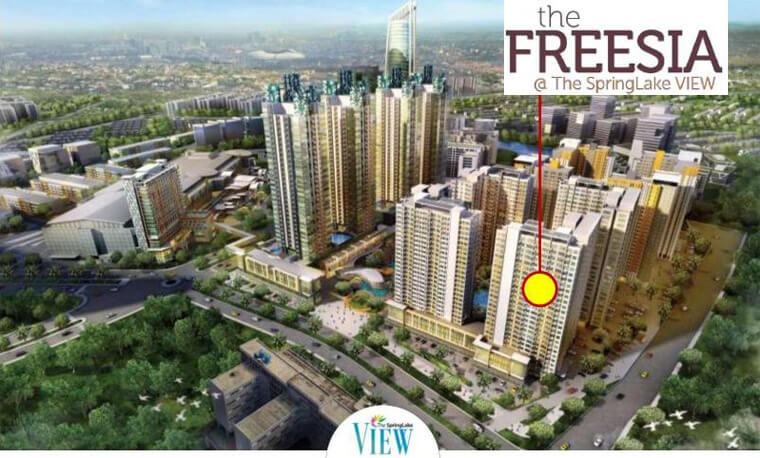 The FREESIA, Apartemen SpringLake Summarecon Bekasi