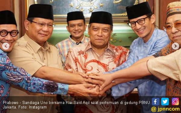 Sepertinya NU Takut Dicap Anti-Prabowo
