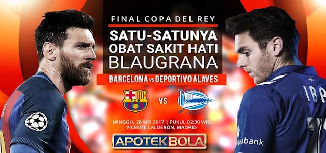 Prediksi Pertandingan Barcelona vs Deportivo Alaves 28 Mei 2017