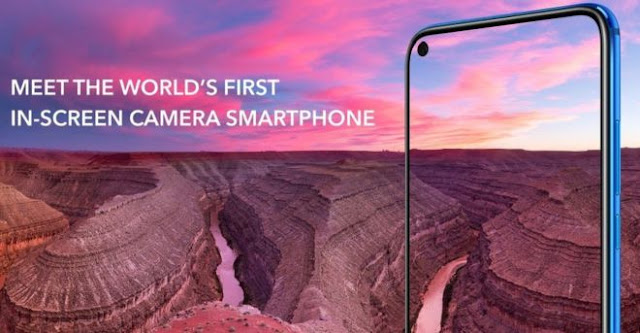 Screen Size Honor View 20-The Hole-Punch Camera Smartphone