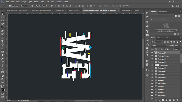 Cara Membuat Typography Text Effect di Photoshop