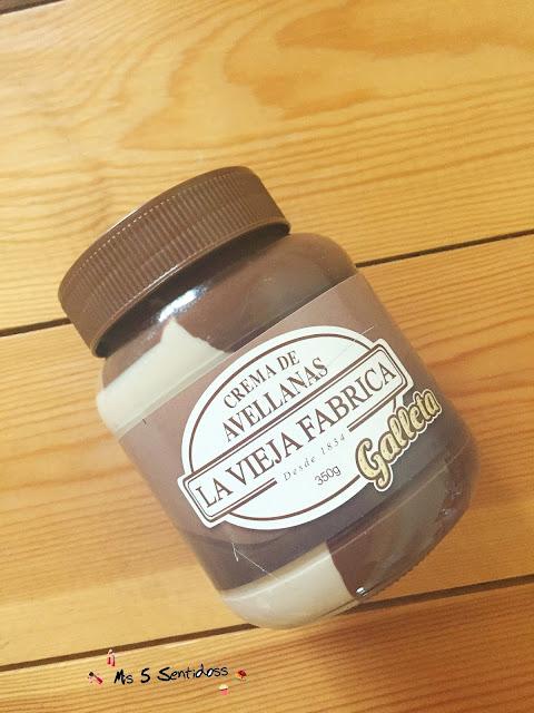 La vieja Fábrica crema de avellanas