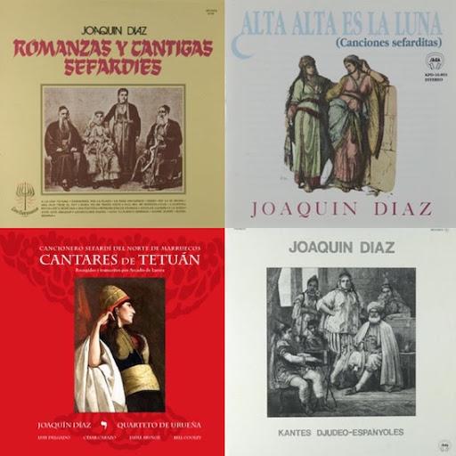 Recopilaciones de repertorio sefardí - Joaquín Díaz