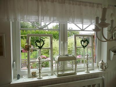 Katrins Landleben Bilder vom Esszimmer und Fenster im Fenster - esszimmer fenster dekorieren