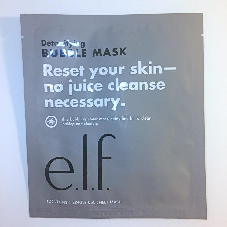 e.l.f. Detoxifying Bubble Mask
