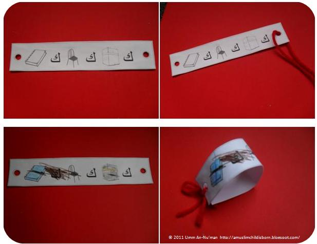 ... about the letter you have been teaching this is an alphabet wrist band
