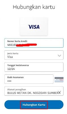 Informasi Mengenai Kartu Debit Visa