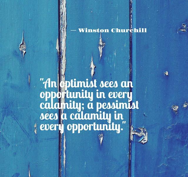 Winston churchill quotes on optimism