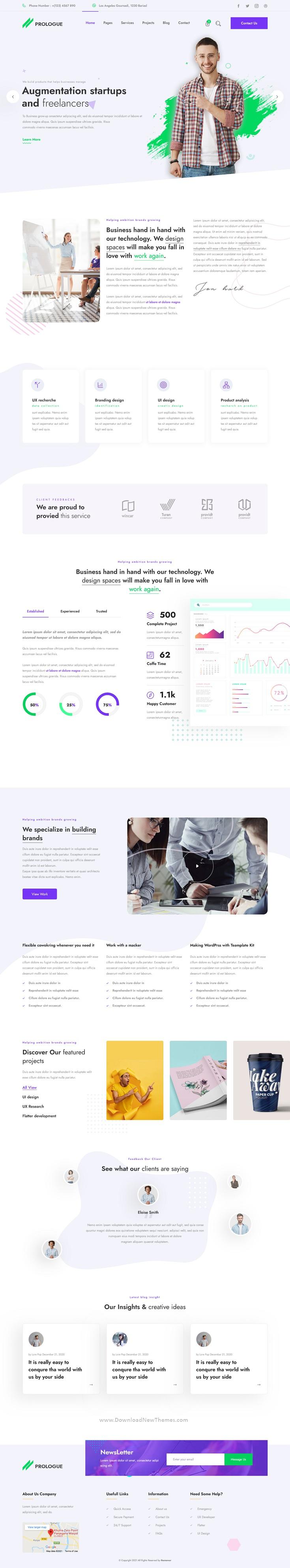 Creative Multipurpose Responsive HTML5 Template