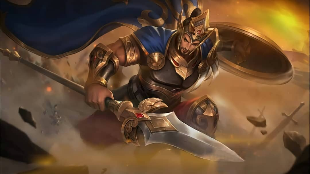Wallpaper Minsitthar Gilded King Skin Mobile Legends HD for PC