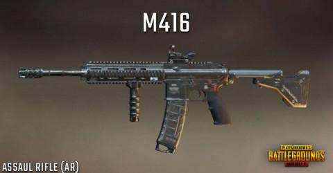 M416 Senjata PUBG