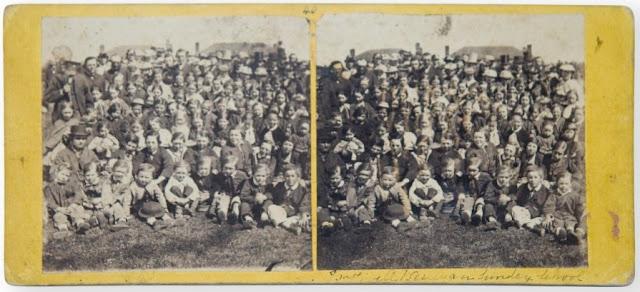 Bothwell school children attrib. S. Clifford