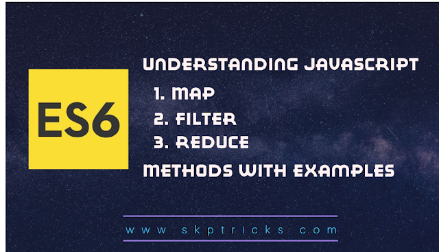 Introduction To map(), reduce(), and filter() function in javascript