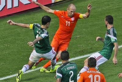 México vs Holanda ¿La Revancha?