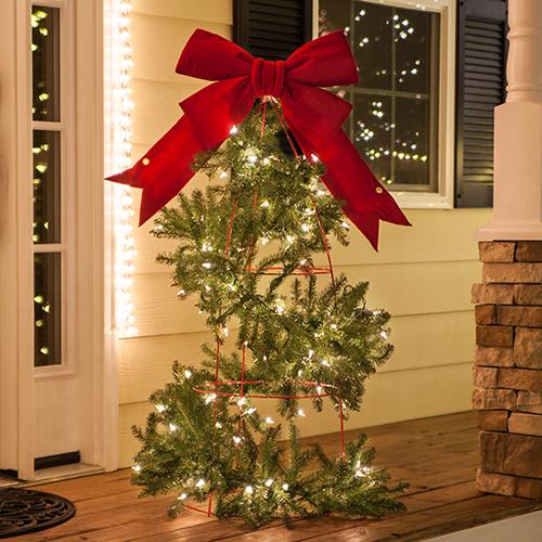 Christmas Tree Wrap Lights