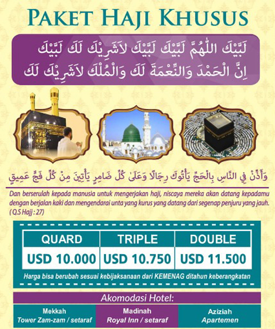 Haji Plus Kuota Depag - Haji Furoda
