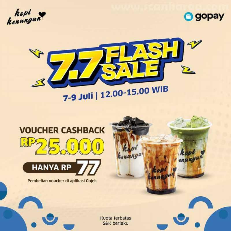 Promo Kopi Kenangan 7.7 Flash Sale Periode 7 - 9 Juli 2020 1