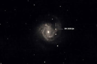 Galàxia M 61 i super nova SN2020jfo