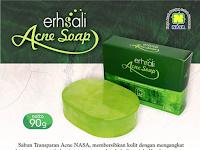 ERHSALI ANTI ACNE FACIAL SOAP - Sabun Untuk Anti Jerawat Nasa