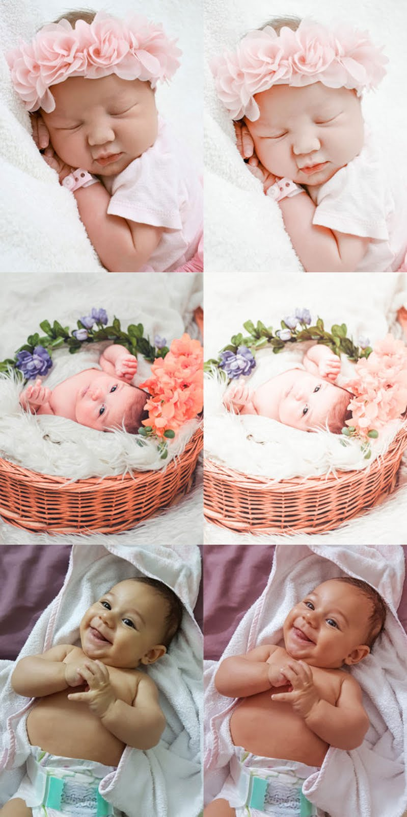 Newborn Baby Lightroom Presets Free