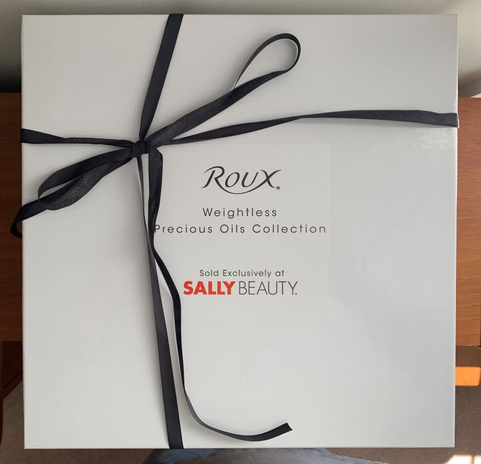#ad Review: Roux® Weightless Precious Oils Hair Care Collection