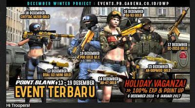 event pb garena DWP - desember winter project