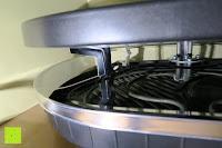 innen außen: Andrew James – Traditioneller Raclette Grill für 8 Personen mit thermostatischer Hitzekontrolle – Inklusive 8 Raclette-Spachteln – 2 Jahre Garantie