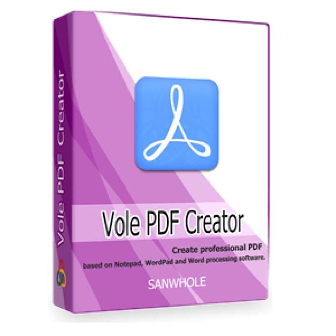 Vole PDF Creator Pro 2021