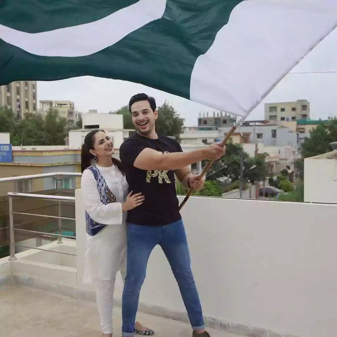 Fatima Effendi shares a sweet family photo to wish her fans Independence Day