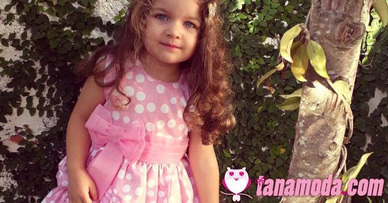 Vestido Infantil de Festa Minnie Rosa - Loja Ana Giovanna