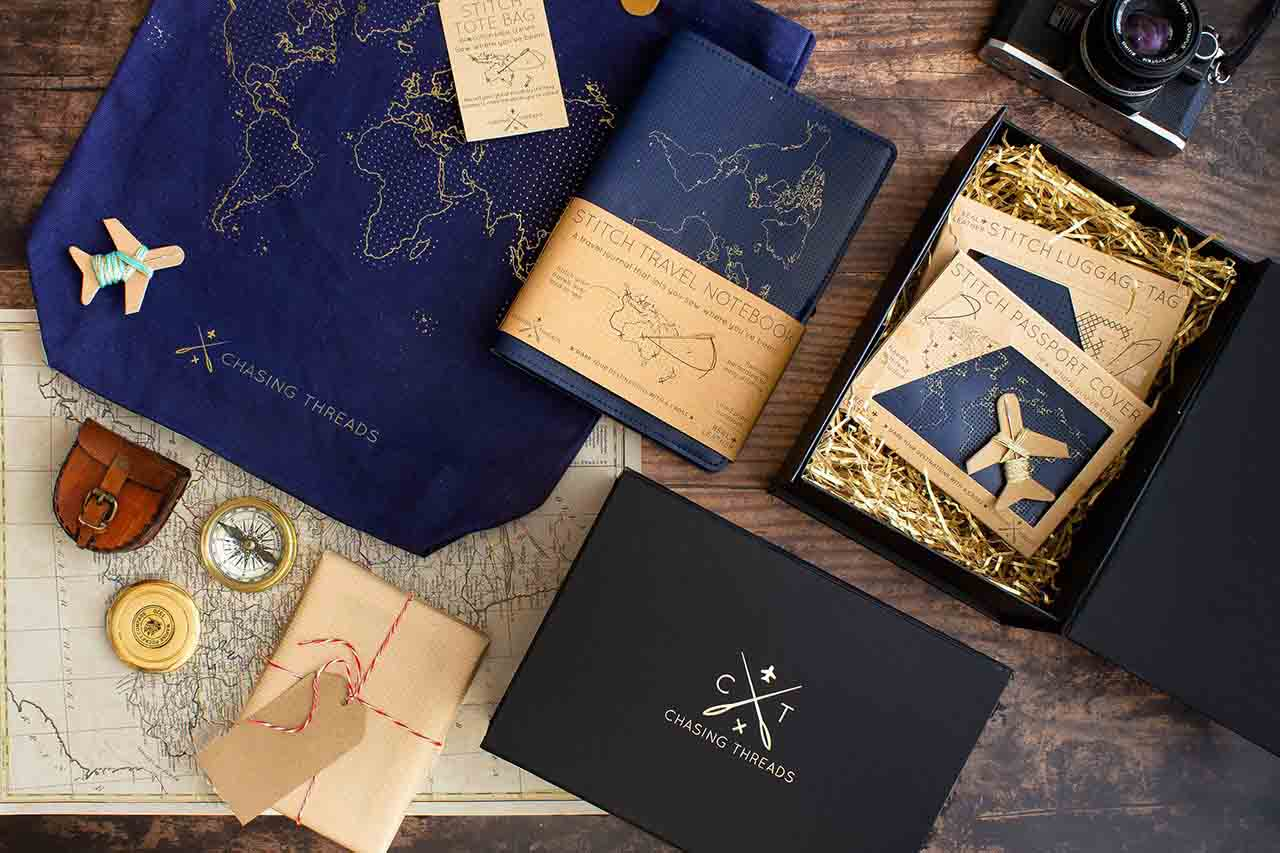 Globetrotter Gift Box - Chasing & Threads