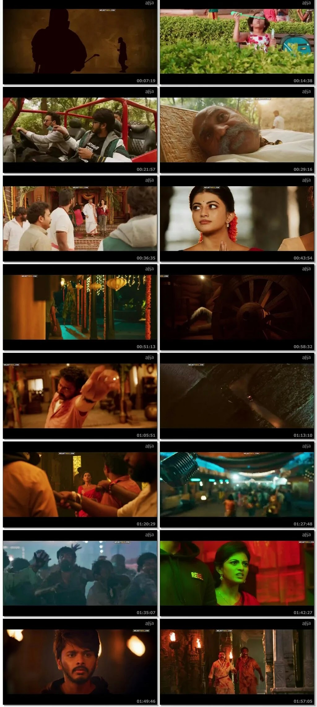 Zombie Reddy 2021 HQ Hindi Dubbed 720p Download Filmyzilla