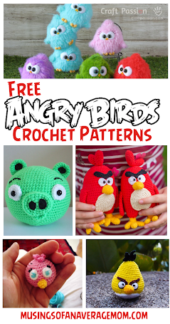 free Angry Birds crochet patterns
