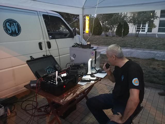 Σπάρτη: Διασυλλογική άσκηση τηλεπικοινωνιών εκτάκτων αναγκών