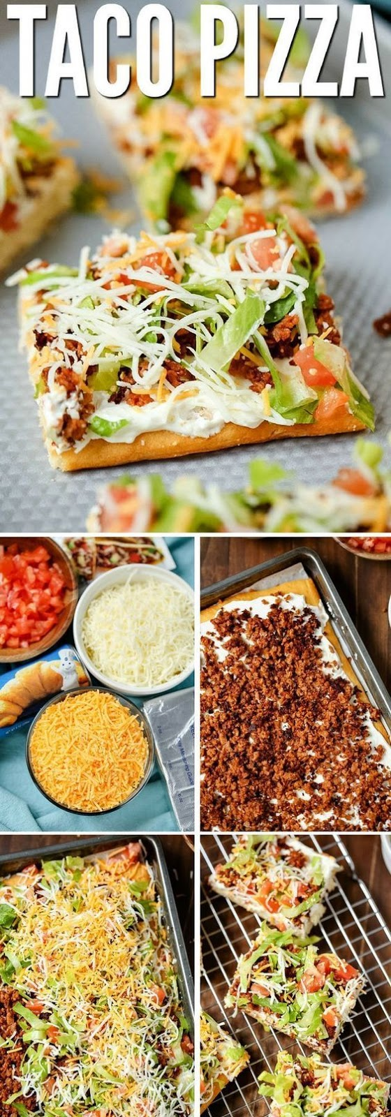 The Best Easy Taco Pizza Recipe #recipes #dinnerrecipes #quickdinnerrecipes #food #foodporn #healthy #yummy #instafood #foodie #delicious #dinner #breakfast #dessert #lunch #vegan #cake #eatclean #homemade #diet #healthyfood #cleaneating #foodstagram